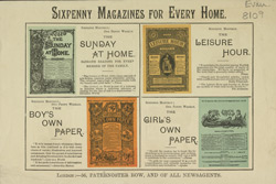 Advert for some 19th century periodicals